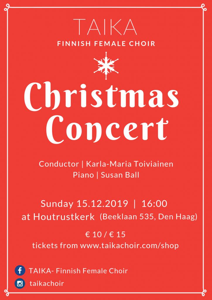 TAIKA Christmas Concert 2019